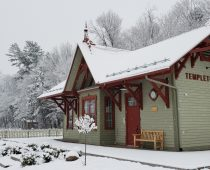 La gare de Templeton-Est