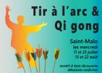 """Pause """"Tir à l'arc & Qi gong""""  - Saint-Malo - été 2018"""