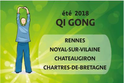 Qi Gong – cours en plein air – été 2018