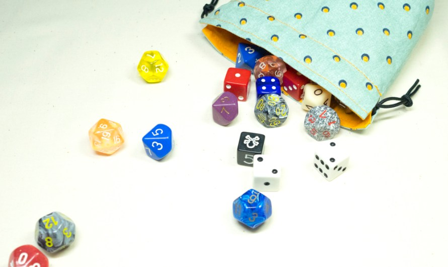 Making dice bags, a quick walkthru