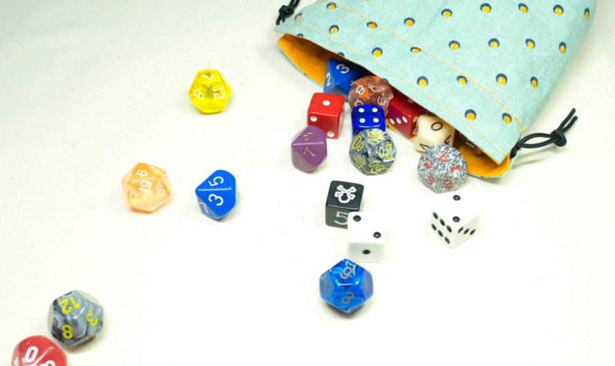Making dice bags, a quick walkthru