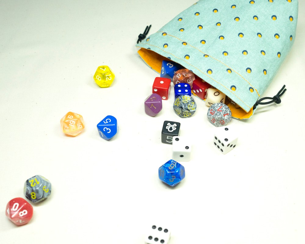 Dice bag! Full of Dice!