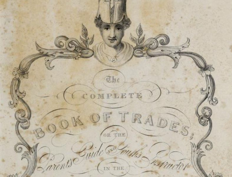 Frontispiece to the Compplete Book of Trades