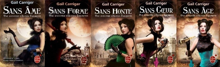 Le Protectorat de l'Ombrelle, Gail Carriger (série)