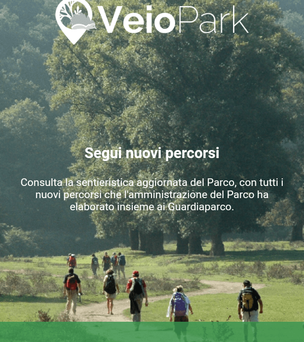 La app del Parco disponibile su Android