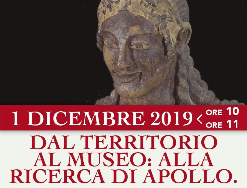 1  dicembre. Dal territorio al museo