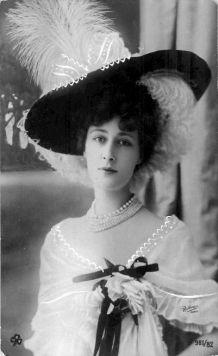 Liane de Pougy (1869 – 1950), danseuse aux Folies Bergères