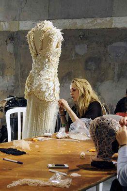 atelier de haute couture Alexander McQueen