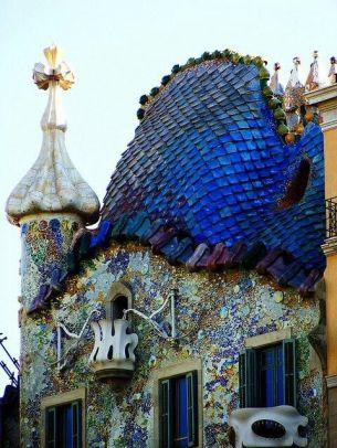 Casa Batlló (détail), Gaudí