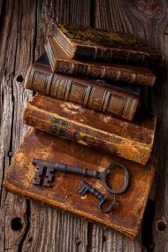 old_books_leather