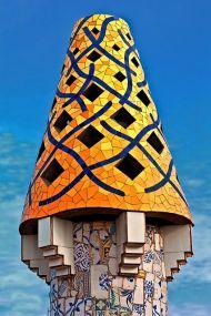 Cheminée du Palais Guell, Gaudi