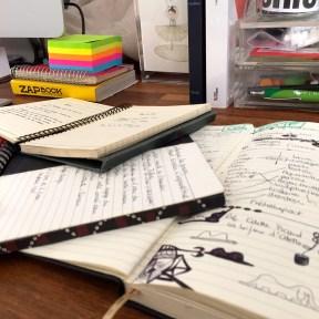 Des carnets, en veux-tu en voilà ! - Photo Parcours Créatifs
