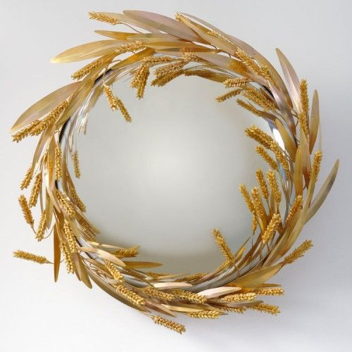 Miroir gerbe de blé - Photo Pinterest
