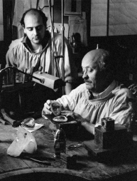 L'artisan joailler - Photo Robert Goossens