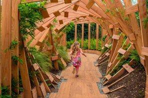 """""""Rivière de sens"""", 2013 - Festival des jardins de Chaumont - Photo site"""