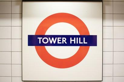 Pra quem vai de metrô - desça na Tower Hill