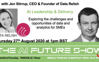 THE AI FUTURE SHOW – Live Talk on Thursday 27th August 1pm BST