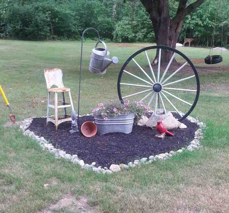 Creating A Temporary Flower Garden