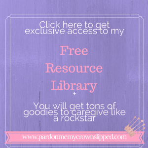 free resource library for caregivers