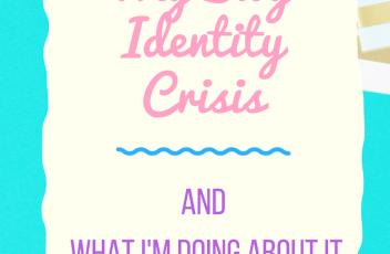 my blog identity crisis