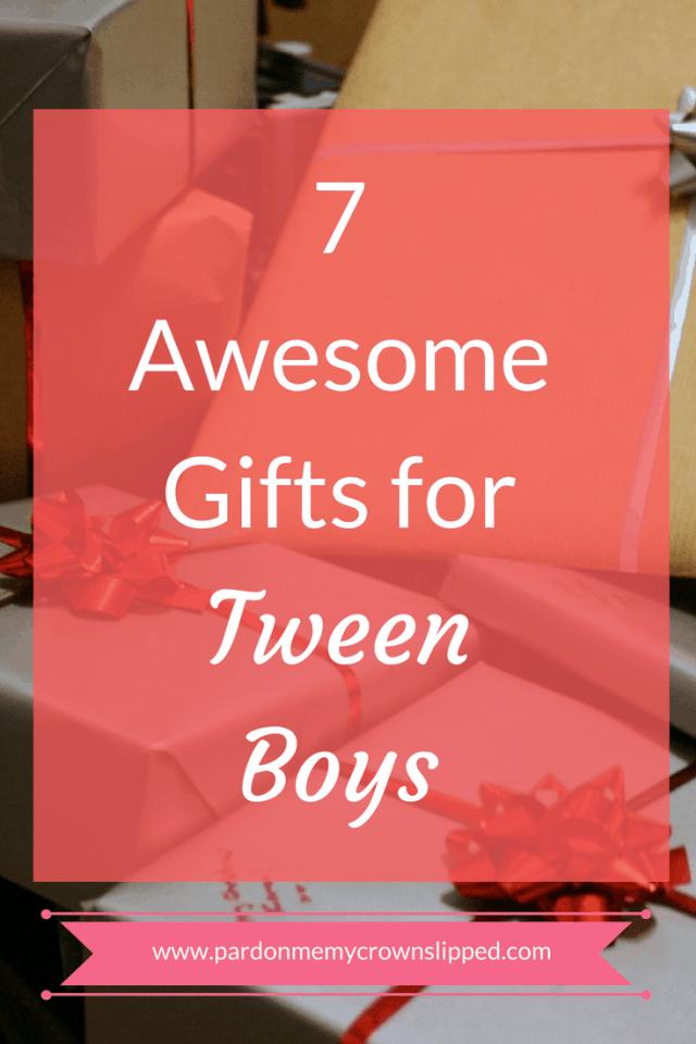 gifts tween boys