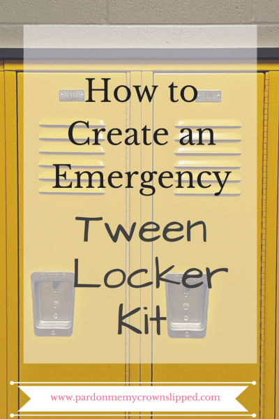A middle school locker kit is a great addition for back to school essentials making it easier to have what tweens need at their fingertips everyday.