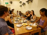Day 53 - Dinner at Nakhon with new friends!