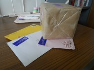 Day 74 - I have mail!!!