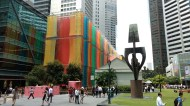 Day 80 - Raffles Place continues on with its abundance of rainbows!