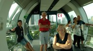 Day 204 - All aboard the Singapore Flyer!