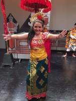 Day 112 - So proud of this girl for her amazing Balinese dance performance!