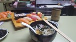 Day 28 - Sushi and noodles at Wasabi Tei.