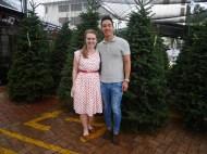 Day 128 - Christmas tree shopping!!!