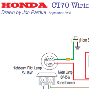 5 Honda CT70 Wiring Diagrams  Home of the Pardue Brothers