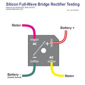 Silicon Bridge Full Wave Rectifier Testing  Home of the
