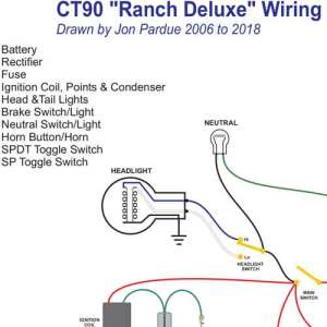 Honda CT90 Ranch Wiring  Home of the Pardue Brothers