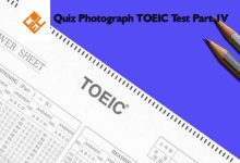 Photo of Quiz Photograph TOEIC Test Part 4