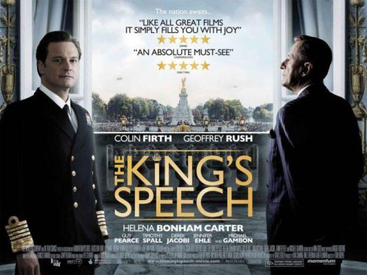 Film The King's Speech bisa menginspirasi kamu untuk berlatih pidato bahasa Inggris