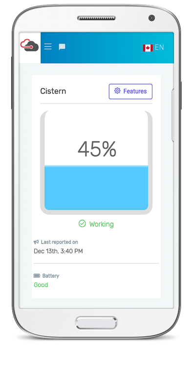 Water level on Android