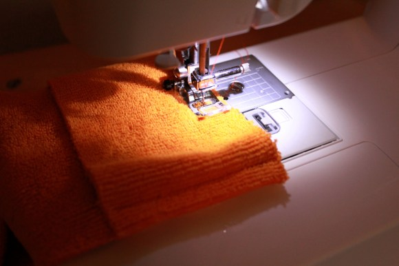 A step by step tutorial for making your own reusable Swiffer WetJet pads   Parental Perspective