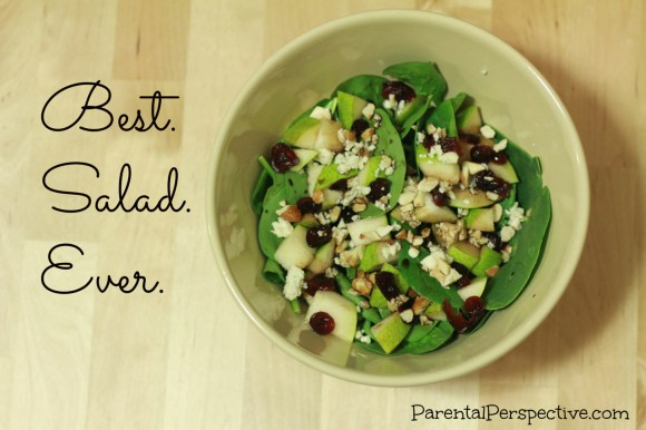 How to create a simple and delicious salad | Parental Perspective