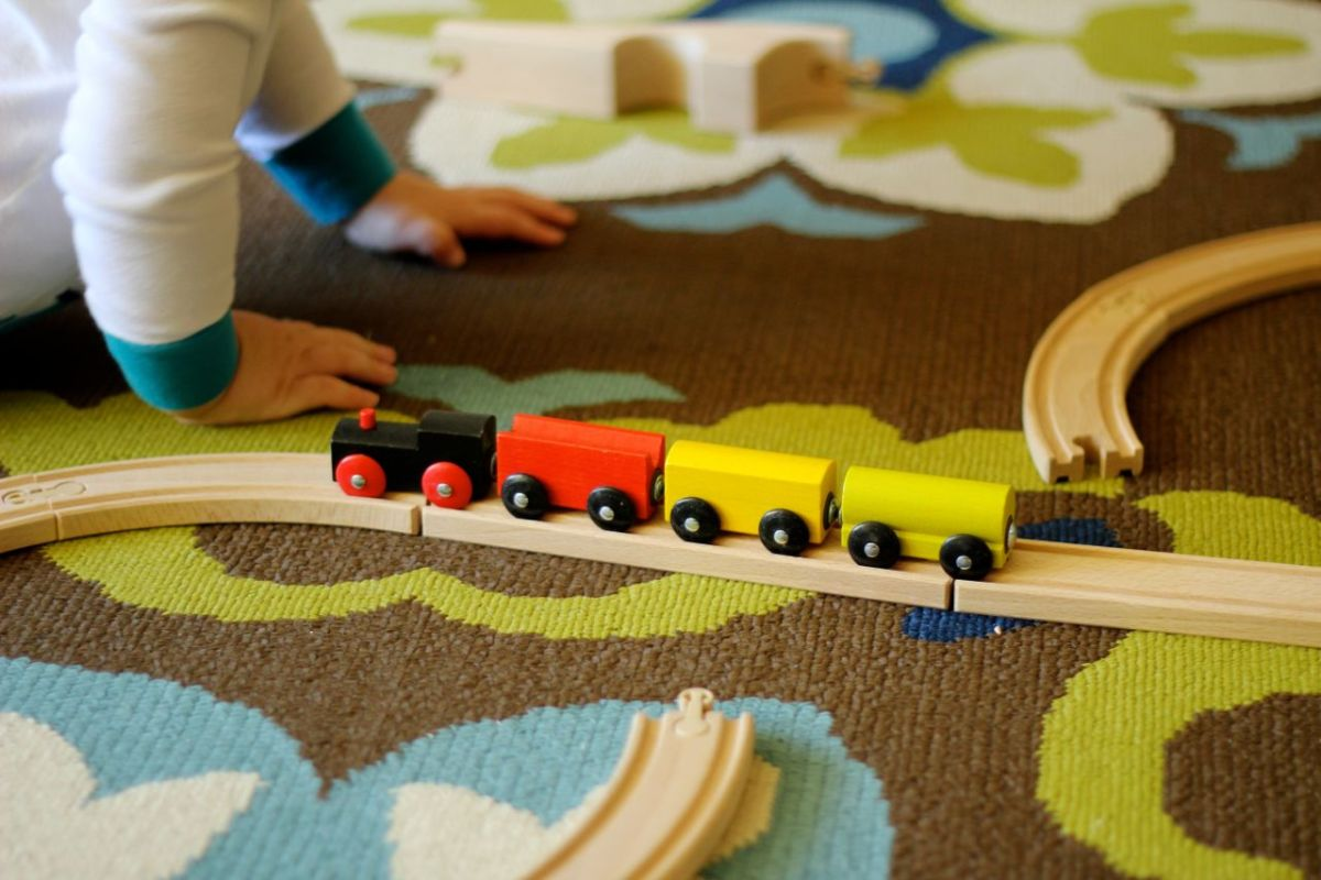 A Review Of Ikea's Lillabo 20 Piece Train Set