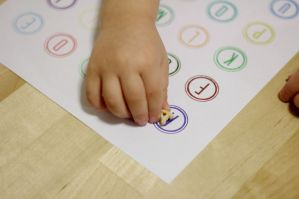 Toddler Alphabet Activity Plus Free Printable