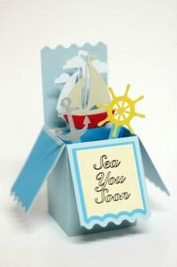 Nautical Box Card