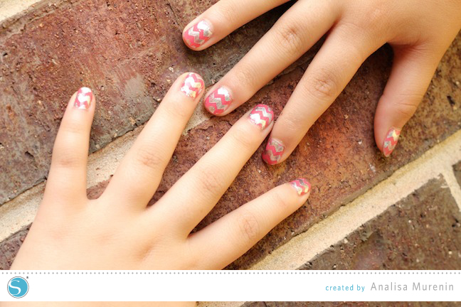 DIY Nail Art | Silhouette Kids Craft