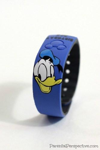DIY Customized Donald Duck Disney Magic Band
