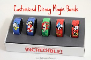 Customized Disney Magic Bands
