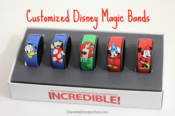 DIY customized Disney Magic Bands