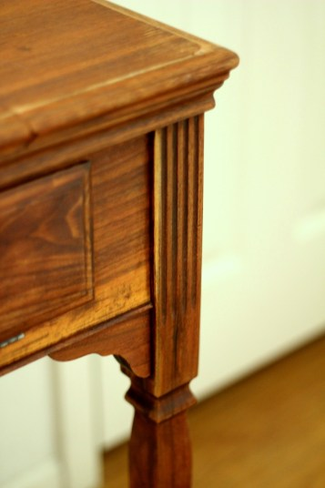 Redone Vintage Sewing Table