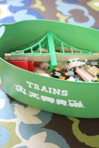 Vinyl Labeled Train Storage And An Update On Ikea Lillabo Trains
